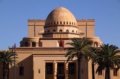 Marrakesh kunglig personteater arkivbilder
