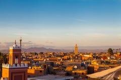 Marrakesh landskap Arkivbilder