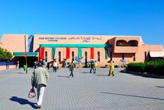 Marrakesh Main bus station Royalty Free Stock Photos