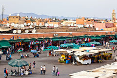 Marrakesh main square Stock Photo
