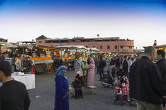Marrakesh main square Stock Photography