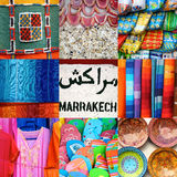 Marrakesh Market Stock Photography
