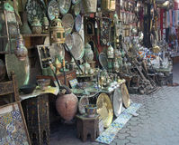 Marrakesh medina Stock Photos
