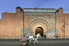 Marrakesh medina door. A morocco place Royalty Free Stock Photography