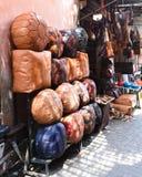 Marrakesh Medina Markets Stock Image