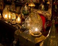 Marrakesh Medina Markets Stock Images
