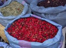 Marrakesh Medina Markets Royalty Free Stock Photo