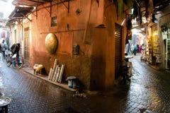 Marrakesh Medina - Morocco Royalty Free Stock Photo