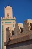 Marrakesh Minaret. Traditional minaret in a souk in Marrakesh, Morocco Stock Images