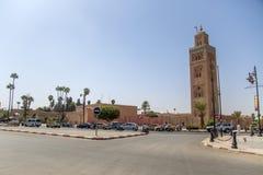 marrakesh morocco Arkivbild