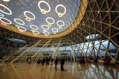 interior of the Menara International Airport royalty free stock photo
