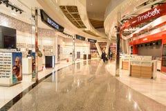 Departure hall of Menara Airport in Marrakesh. Morocco Stock Photo