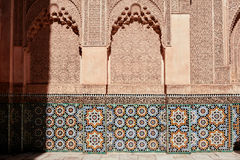 Free MARRAKESH, MOROCCO- March 03, 2016: The Ben Youssef Madrasa Which Is Visited By Tourists From All World In Marrakesh. The Ben Yous Royalty Free Stock Image - 70622656