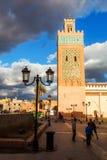 marrakesh moské Royaltyfria Foton