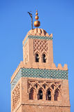 marrakesh moské Royaltyfria Bilder