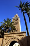 Marrakesh, mosque of Koutoubia Royalty Free Stock Image
