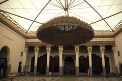 Marrakesh museum chandelier Stock Images