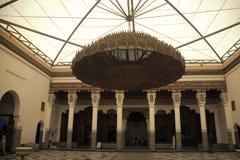 Marrakesh museum chandelier stock images