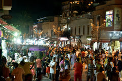Marrakesh by night Stock Photography