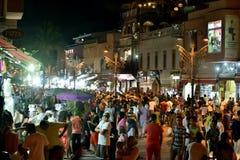 Marrakesh nocą Fotografia Stock