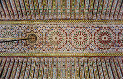 Marrakesh palace Stock Images
