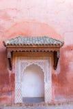 Marrakesh relikskrin Arkivfoto