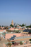 Marrakesh rooftops Royalty Free Stock Photos