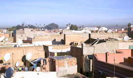 Marrakesh rooftops Stock Photos