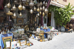 Marrakesh's medina quarter Stock Photo