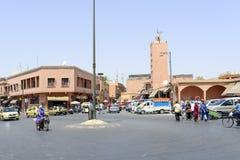 Marrakesh's medina quarter Stock Photo