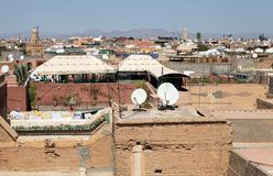 Marrakesh sikt fotografering för bildbyråer