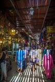 Marrakesh souk Stock Images