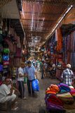 Marrakesh souk Royalty Free Stock Photo