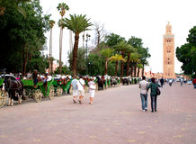 Marrakesh walk Stock Images