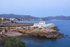 Marrana Baths in Isla Plana, Spain Stock Photos