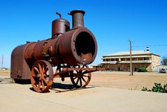 Marree, Zuid-Australië Stock Fotografie
