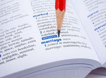 Marriage. Royalty Free Stock Images