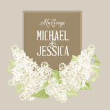 Marriage card Stock Photography
