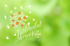 Marriage card Royalty Free Stock Images