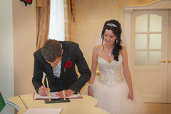Marriage ceremony Royalty Free Stock Image