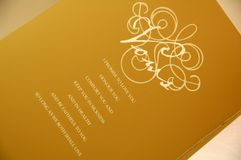 Marriage Certificate Stock Photo