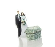 Marriage house Royalty Free Stock Photo