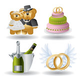 Marriage Icons - Super Render Royalty Free Stock Images
