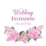 Marriage invitation card Royalty Free Stock Image