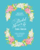 Marriage invitation card Royalty Free Stock Images