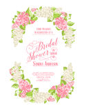 Marriage invitation card Royalty Free Stock Photo