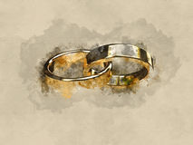 Marriage marriage marry ring rings wedding ring wedding rings Stock Photography