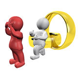 Marriage offer-3 Stock Image
