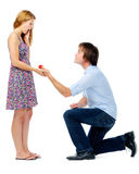 Marriage proposal Royalty Free Stock Image