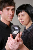 Marriage proposal Stock Photos